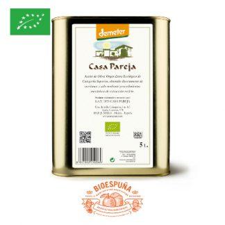 Huile d'Olive bio 5 L Biodynamie