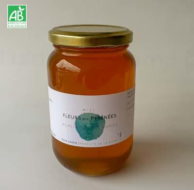 miel Fleurs Pyrénées Acacia 500g