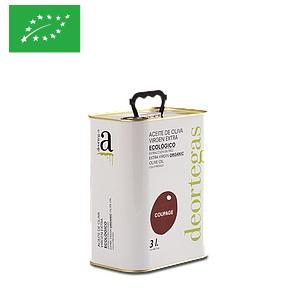 Huile d'olive bio 3 L Deortegas