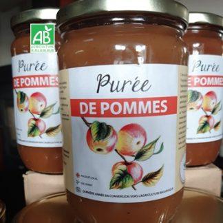 Puree de pommes bio