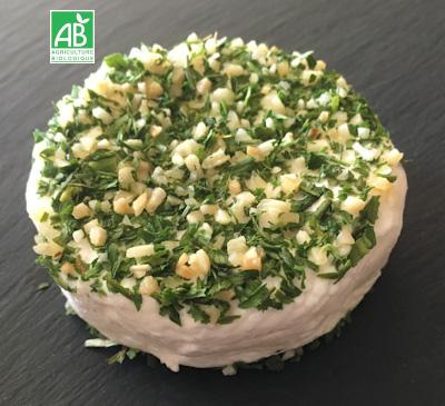 fromage_chevre_Ail et fines herbes_bio