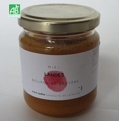 miel-des landes de-bourdaine-bio 250 g