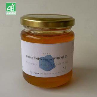 miel_bio_Printemps Pyrénées 250g