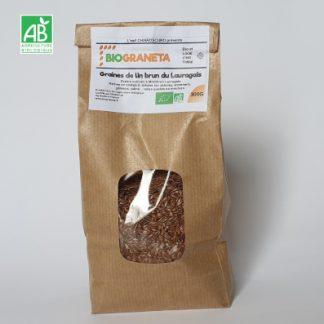 Graines de Lin brun bio 300 g
